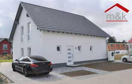 Neubau-Traumhaus sofort bezugsfrei in Lich Langsdorf, Erstbezug, 7 Zimmer, Garten, Terrasse, Carport