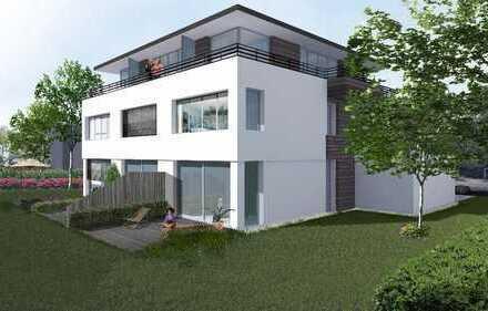 Urban Living in Großhadern! Zeitgenössische Eckhäuser mit Dachterrassen und Südgärten
