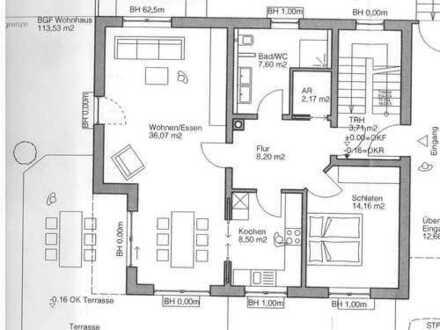 Neuwertige 2-Zimmer-Terrassenwohnung mit EBK in Aurachtal