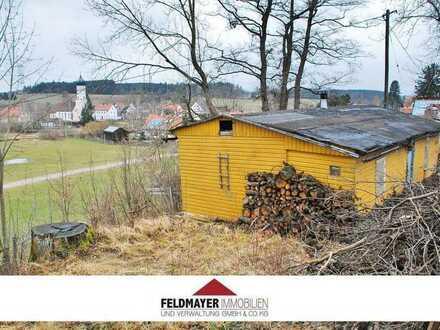 Baugrundstück in Harthausen - schöne West-Hanglage am Waldrand - inkl. Baugenehmigung!