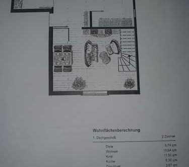 Moderne, gepflegte 3-Zimmer-Maisonette-Wohnung in Nürtingen-Neckarhausen