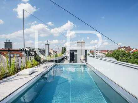 """Super Prime Penthouse mit """" rooftop pool """" in grandioser Citylage - Haus in Haus -"""