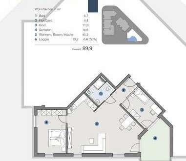 EG; Großzügige, helle Wohnung für Familien - T5 Wohnareal - fortschrittlich, nachhaltig, innovativ