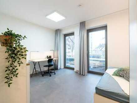 """""""Studio 152"""" - Wiesbaden / Einzelzimmer im zentral gelegenen Studentenwohnheim / Baujahr 2019"""