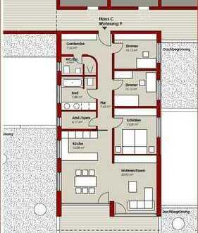 C9 | 4,5 Zimmer | 123,01 m²