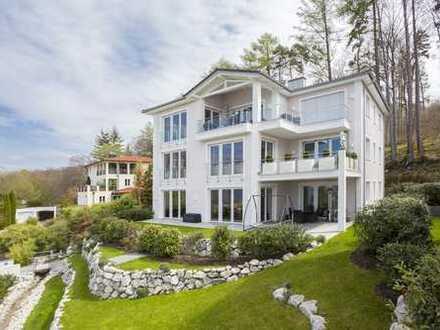 FLECKENSTEIN - Luxuriöse 4-Zimmer-Gartenwohnung mit Seeblick - Berg Starnberger See