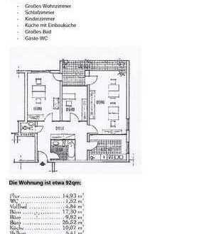 Sehr schöne 3-Zimmer-Wohnung von Privat ab sofort zu vermieten