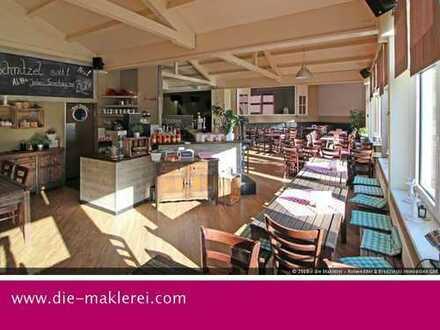 Restaurant mit angeschlossener Bowlingbahn