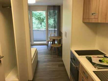 Stilvolle 1-Zimmer-Wohnung mit Balkon und EBK in Schwäbisch Hall