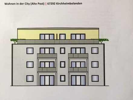 Erstbezug: schöne 3-Zimmer-Wohnung mit Balkon in Kirchheimbolanden