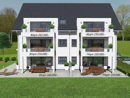 Exklusive 6 Wohnungen mit Terrasse oder Balkon in Walldürn-Neusaß