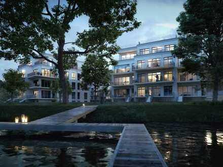 Traumhafte Neubau-EG-WE direkt am See