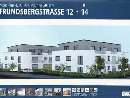 Neubauwohnung in KfW 70 Standardbauweise mit Gartenanteil