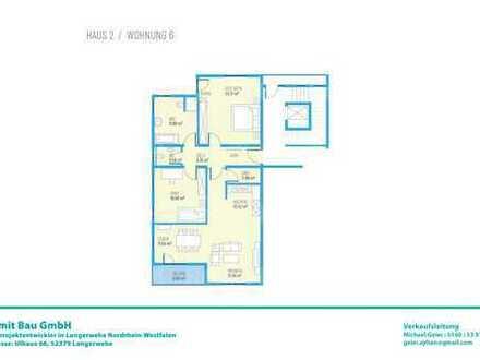 Drei Zimmer OG-Wohnung H2W6
