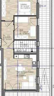 #Penthouse Ost/Süd/West Dachterrasse in Bestlage/Barrierefrei/Dusche & Badewanne/Schlüsselfertig#
