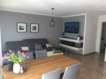 Stilvolle, neuwertige 3-Zimmer-Erdgeschosswohnung mit Terrasse und EBK im Zentrum von Pfaffenhofen