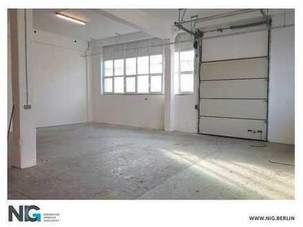STEGLITZ| Modernisierte und tagesbelichtete Hallenflächen| ebenerdig | beheizt