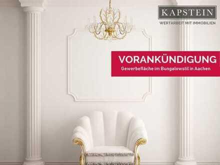KAPSTEIN Immobilien: Bungalowstil, derzeit Gewerblich genutzt, kann zur Wohnung umgewandelt werden