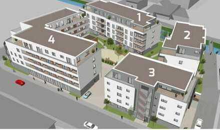 Betreutes Wohnen - Erstbezug, exklusive 2,5-Zimmer-Wohnung in Sinsheim im Wohnquartier Elsenz-Mitte