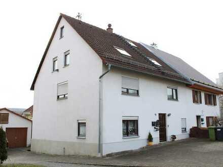 Maisonette -Whg. inkl. 300 m² Garten, toller Ausblick