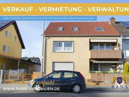 Erdgeschosswohnung mit optimaler Raumaufteilung · 2 Balkone & Garage · Modernisiert