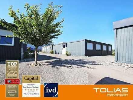 Arbeiterwohnheim bestehend aus 6 Containern mit jeweils ca. 130 m² Fläche für insgesamt 68 Personen