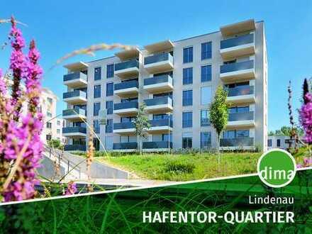 NEUBAU | HAFENTOR-QUARTIER | Bonus bis Ende 2019 | Fußbodenheizung | Parkett | Balkon | Wasserblick