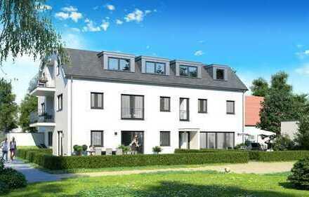 Haus im Haus! 4 Zimmer-Wohnung mit Garten, Hobbykeller mit Treppe verbunden, ruhige Lage Nähe OEZ