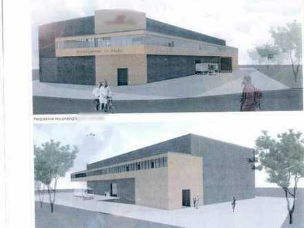 ##NEUBAU !! moderne Lager-oder Produktionshalle mit Bürogebäude in Ramsdorf##
