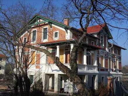 """5-Zi-Whg """"Beletage"""" - Exklusives Wohnen in historischer Villa Heinicke am Dorfplatz in Stahnsdorf"""