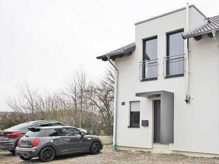 Neubau-Doppelhaushäfte in Leopoldstal