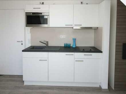 Schickes, voll möbliertes Apartment, moderner Einbauküche mit Geräten, TGL-Bad und Aufzug!