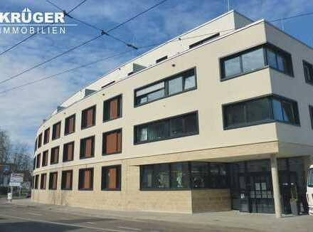 KA-Durlach / tolle & barrierefreie 2-Zi.-Penthouse-Whg. mit Terrasse und EKB, direkt am Hengstplatz