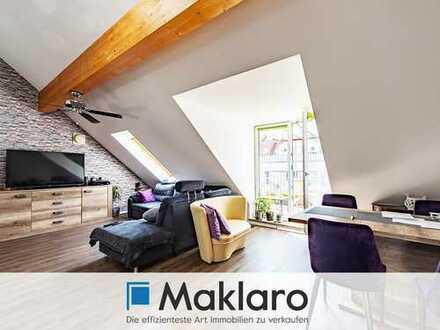 Traumhafte Maisonette-Wohnung mit großem Balkon und Tiefgaragenstellplatz in München-Untermenzing