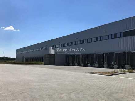 """""""BAUMÜLLER & CO."""" - ca. 30.000 m² Lagerhalle - Anmietung von Teilflächen möglich!"""