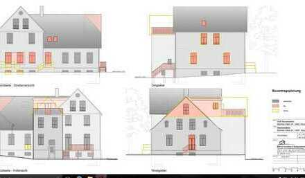 Ländliches Wohnprojekt, Eigentumswohnung im hochwertig sanierten Mehrfamiliehaus (großem Bauernhaus)