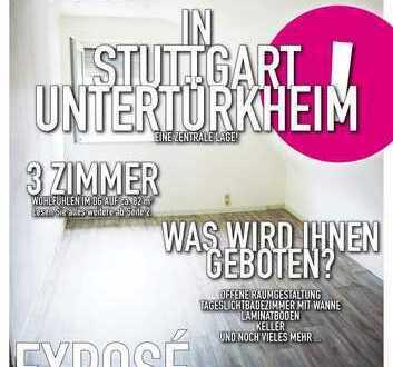 3 Zimmer Wohnung im DG: Einfach, aber viel Platz und ruhige Lage