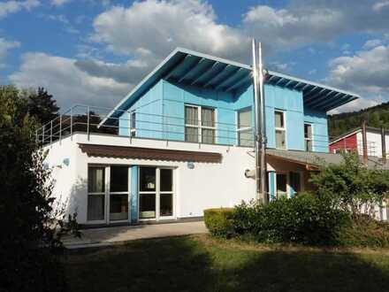 Modernes Architektenhaus auf großem Grundstück in Randlage