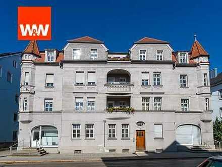Liebhaberobjekt zur Kapitalanlage oder Selbstnutzung. Schöne Jugendstil Wohnung in Göggingen/Augsbur