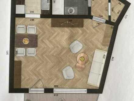 1,5-Zimmer-Wohnung mit Balkon in Dillingen an der Donau
