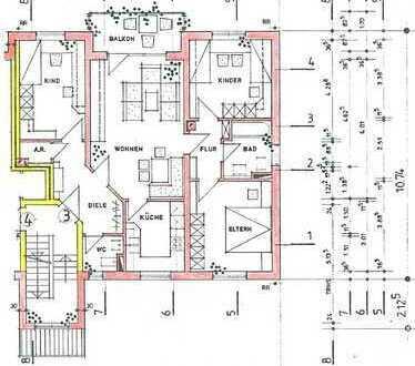 Gepflegte 4-Zimmer-Wohnung mit EBK in Altenstadt