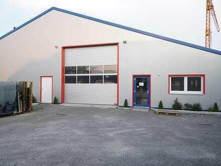 Energetische Warm-Halle m Büro Raum Kitzingen 457 m2 - günstige Verbrauchswerte