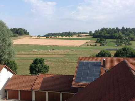 Geräumige 3 Zi-Whg. im DG mit 2 Balkonen