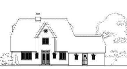 Umbau- und Kernsanierung eines Einfamilienhauses mit Wattblick unter Reet in Morsum