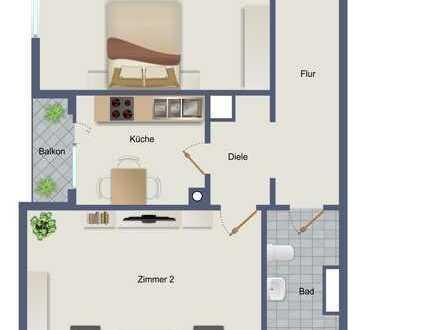 Sanierte Eigentumswohnung in gefragter Wohnanlage von Hanau