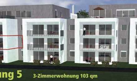 Großzügige 3,5 Zi.-Neubau-Wohnung mit Balkon auf der Sonnenseite WHG_05 direkt am Waldrand