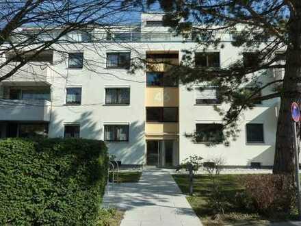 Charmante Wohnung mit toller Aussicht ins Grüne
