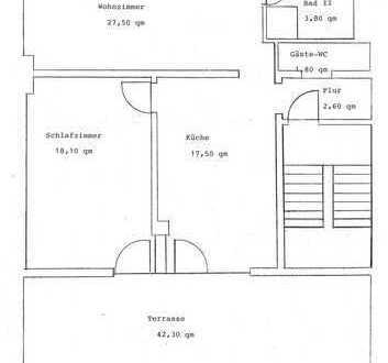 Gepflegte Obergeschosswohnung