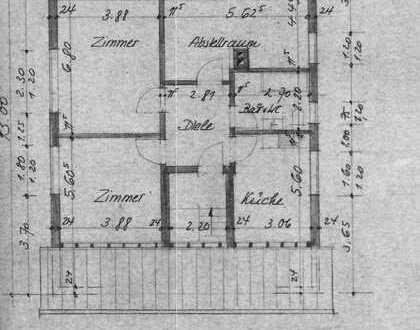 Schöne 3-Zimmer-DG-Wohnung mit Einbauküche in Oftersheim