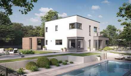 Modernes EFH im Bauhausstil inkl. Grundstück / Ortsrand von Schwanau-Nonnenweier
